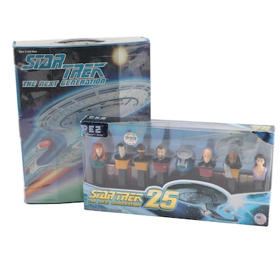 """""""Star Trek: The Next Generation"""" Action Figures and Pez Dispensers"""