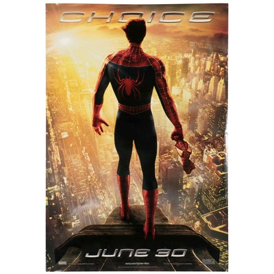 """""""Spider-Man 2"""" Theatrical Release One Sheet Movie Poster, 2004"""
