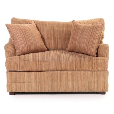 Henredon Custom-Upholstered Loveseat