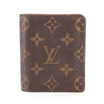 Louis Vuitton Portefeuille Magellan in Monogram Canvas