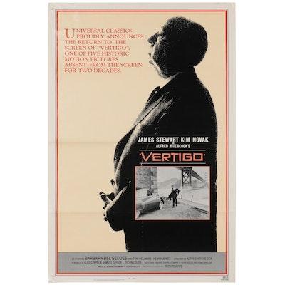 """""""Vertigo"""" Theatrical Release Poster, 1983"""