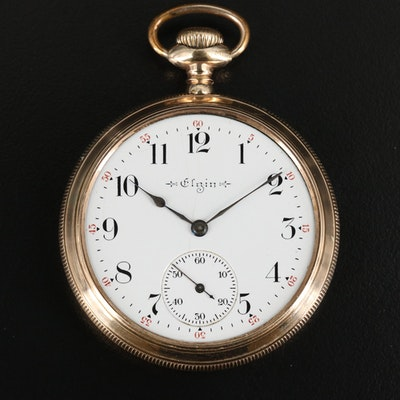 1904 Elgin Gold Filled Pocket Watch