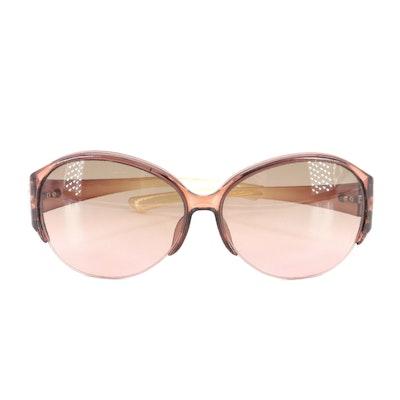 Gucci GG 2910 Horsebit Translucent Ombré Sunglasses with Case
