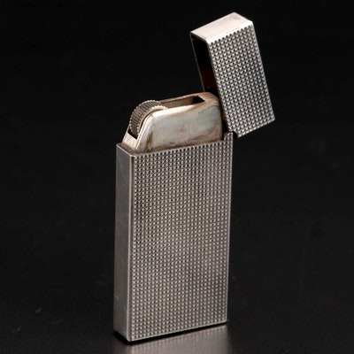 Tiffany & Co. Silver Tone Lighter with Pouch