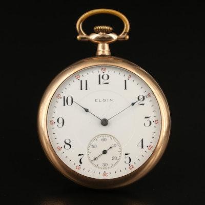 1912 Elgin Gold Filled Pocket Watch
