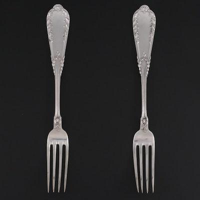 Polish 800 Silver Dinner Forks
