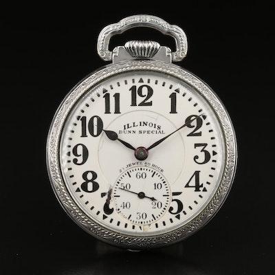 1928 Illinois Bunn Special Pocket Watch