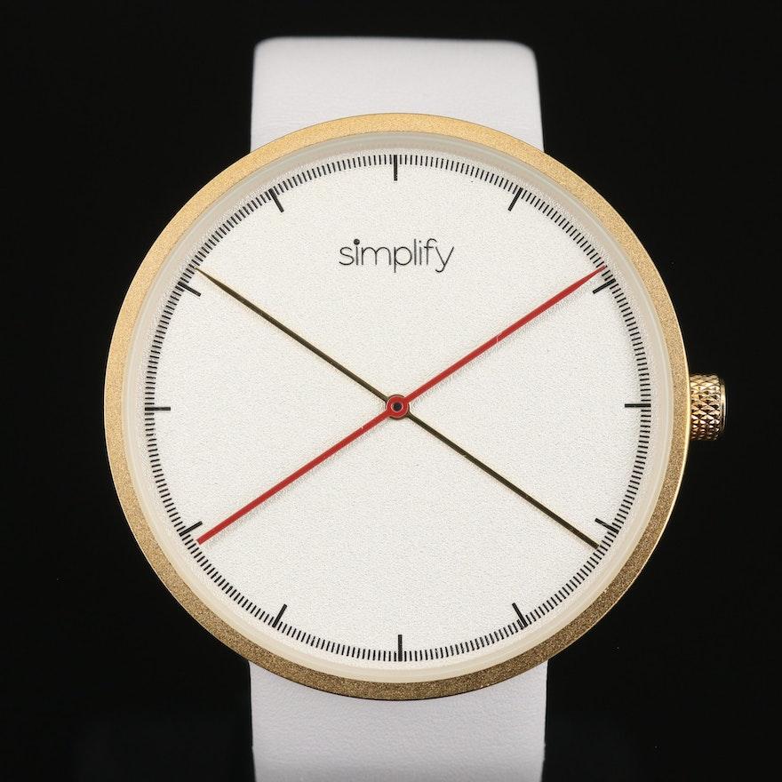 Simplify Quartz Wristwatch