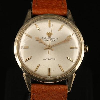 Vintage Jules Jürgensen 14K Gold Filled Automatic Wristwatch