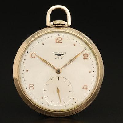 Longines Open Face Pocket Watch