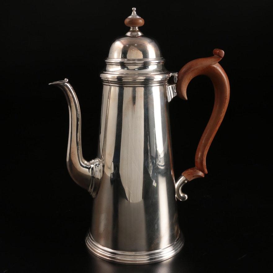 James Robinson Inc. Sterling Silver Coffee Pot, 1967