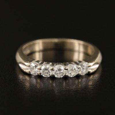 14K Five Stone Diamond Ring