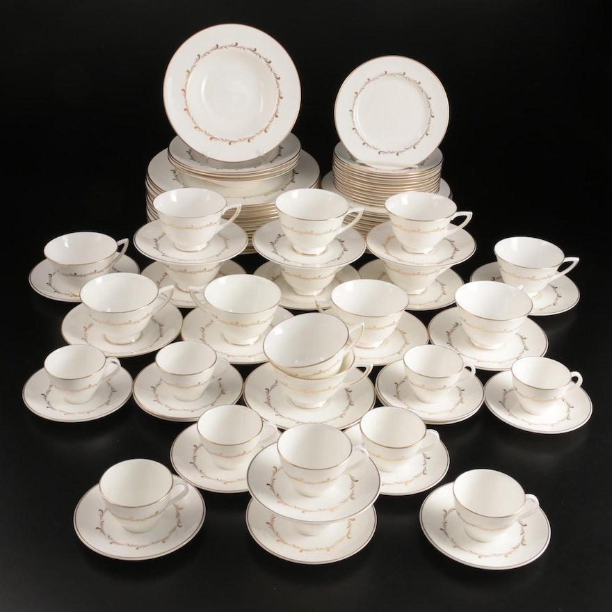 "Royal Doulton ""Rondo"" Bone China Dinnerware, Mid to Late 20th Century"