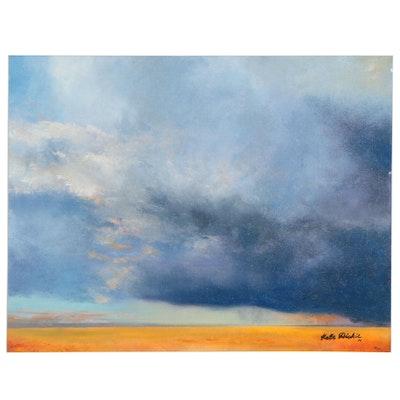 Katie Dickie Landscape Oil Painting, 2020