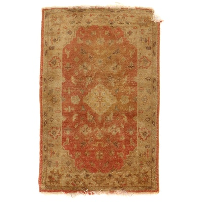 2'7 x 4'1 Hand-Knotted Wool Area Rug