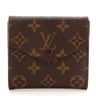 Louis Vuitton Porte Monnaie Billets Cartes Credit in Monogram Canvas