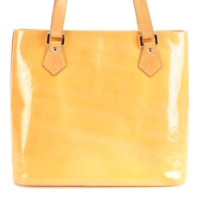 Louis Vuitton Houston Tote in Monogram Vernis and Vachetta Leather