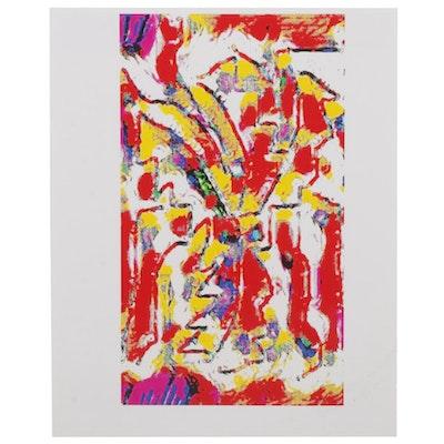 Brenae Cochran Abstract Giclée, 21st Century