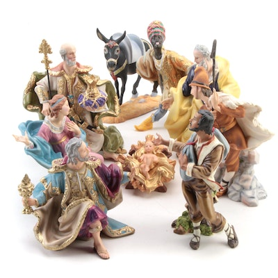 The Vatican Nativity Collection Ceramic Figurines