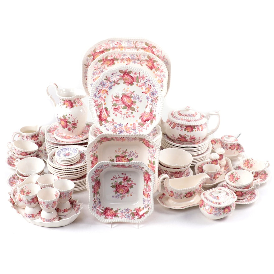 """Copeland Spode """"Spode's Aster"""" and Other Ceramic Tableware"""