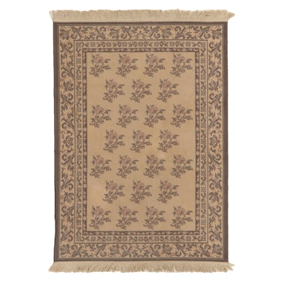 4' x 5'11 Machine Made Floral Area Rug