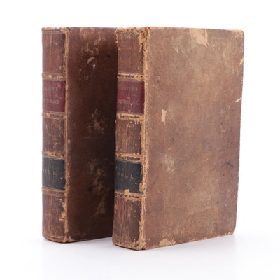 """""""Dictionary of Practical Surgery"""" Two-Volume Set by Samuel Cooper, 1832"""