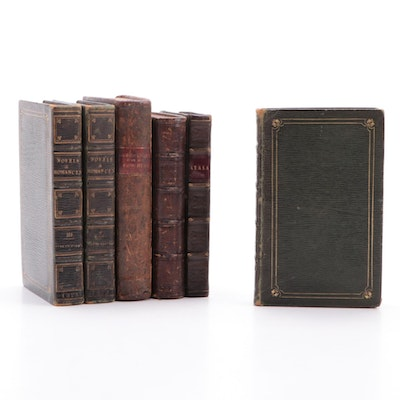 """""""Novels and Romances"""" Partial Set by Sir Walter Scott and More, 19th Century"""