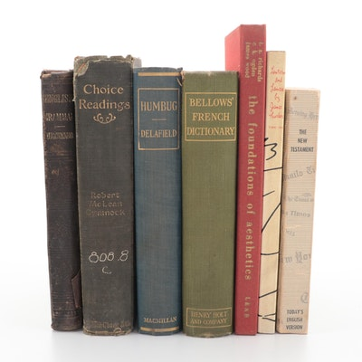 """""""Humbug: A Study in Education"""" and More, Late 19th to Mid-20th Century"""