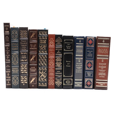Easton Press Classics Including Melville, Verne and Steinbeck, Late 20th Century