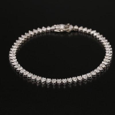 14K 2.70 CTW Diamond Line Bracelet