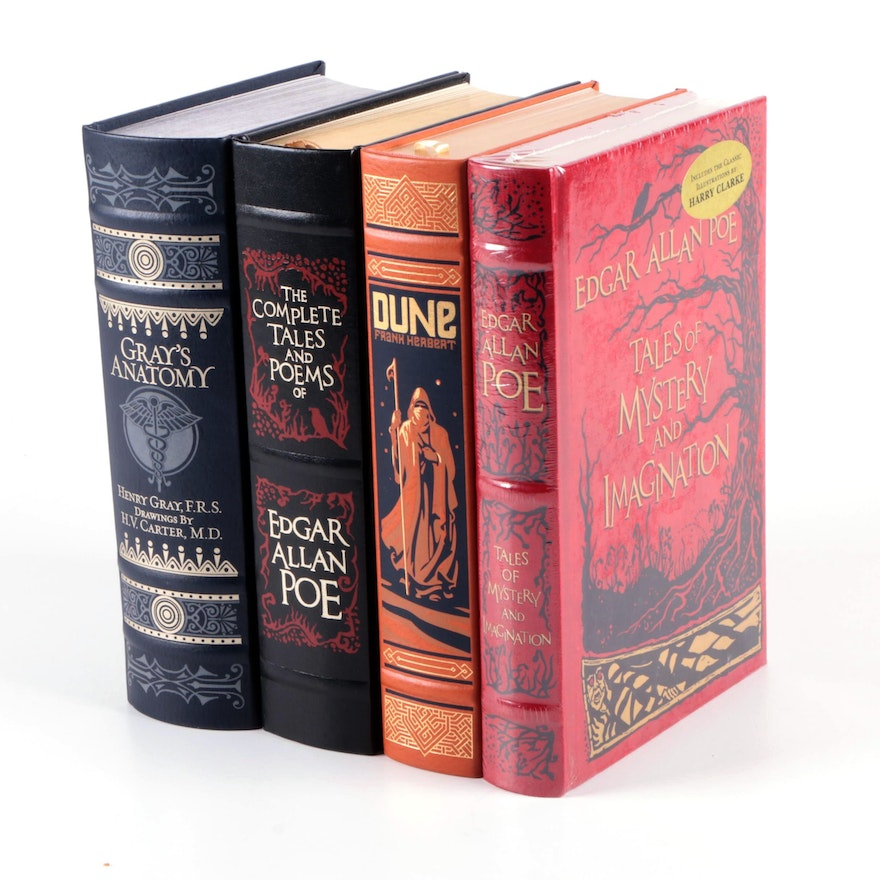 """""""Dune"""" by Frank Herbert and More Barnes & Noble Leather Bound Classics"""