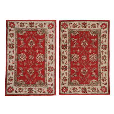 4' x 6'  Hand-Tufted Floral Area Rugs