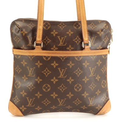 Louis Vuitton Sac Coussin GM Bag in Monogram Canvas and Vachetta Leather
