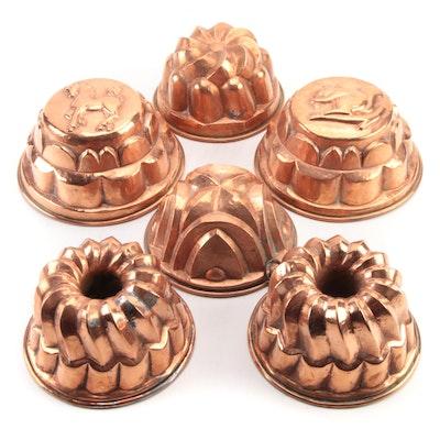 Hammered Copper Bundt Pans and Baking Molds