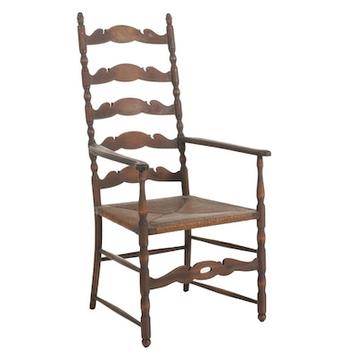 Karpen Ladderback Side Chair, Early to Mid 20th Century