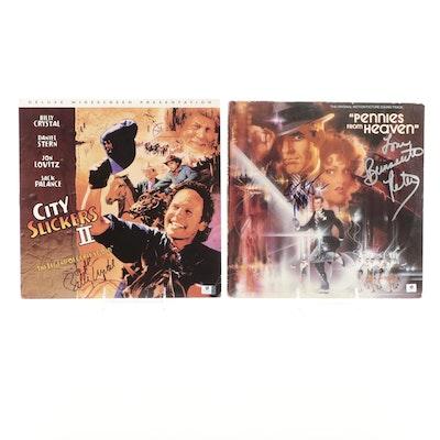 Steve Martin, Bernadette Peters, Billy Crystal Signed Soundtrack and Movie, COAs