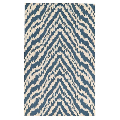 """5'1 x 7'11 Hand-Tufted Momeni """"Madcap Cottage"""" Collection Rug, 2010s"""