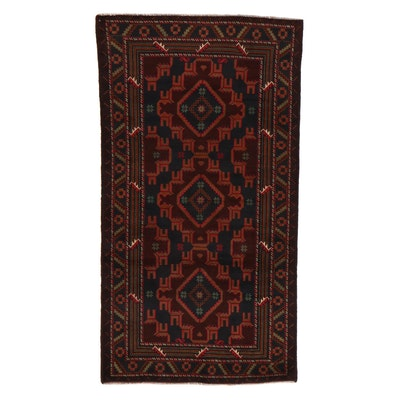 3'7 x 6'5 Hand-Knotted Persian Birjand Khorasan Rug, 2000s