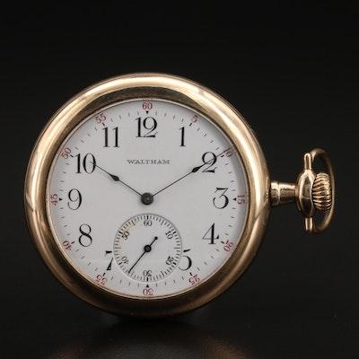 1903 Waltham 12 Size Sidewinder Pocket Watch
