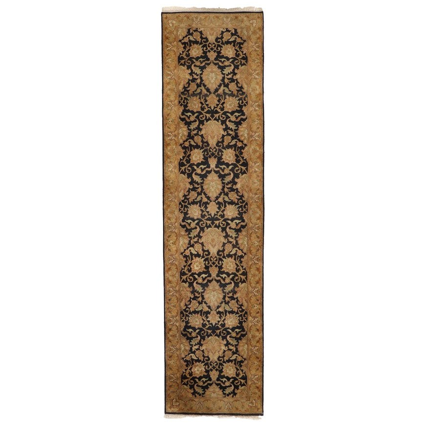 2'11 x 11'11 Hand-Knotted Indo-Persian Carpet Runner