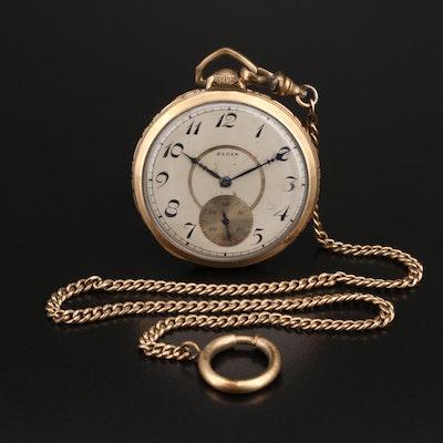 1932 Elgin 10K Gold Filled Pocket Watch