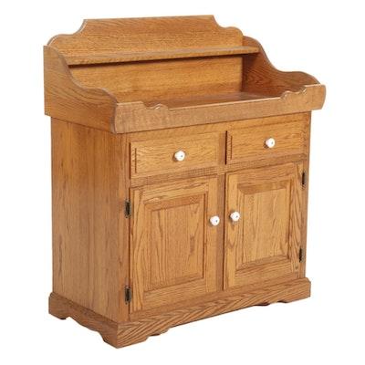 Oak Dry Sink, Late 20th Century