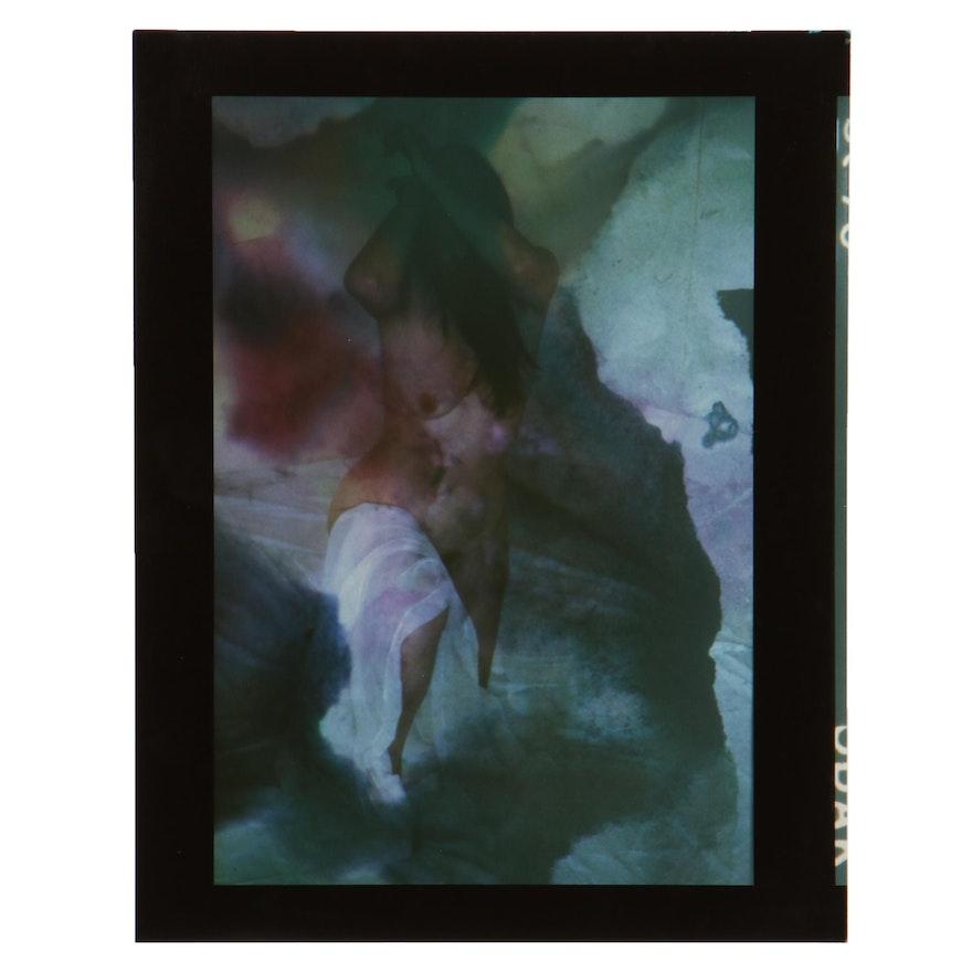 Barbara Hershey Surreal Figural Cibachrome Photograph, 1983
