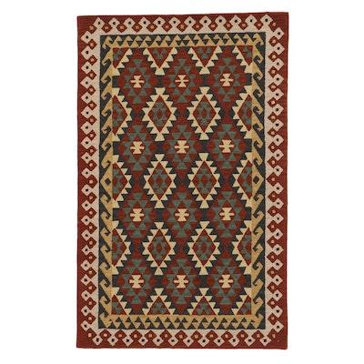 5'1 x 8'1 Hand-Tufted Indo-Caucasian Kazak Rug, 2010s