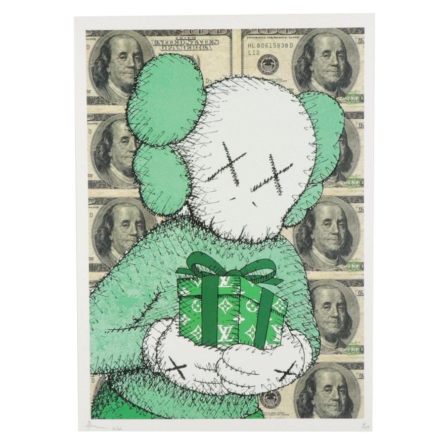 "Death NYC Pop Art Graphic Print ""X100X Gift,"" 2020"