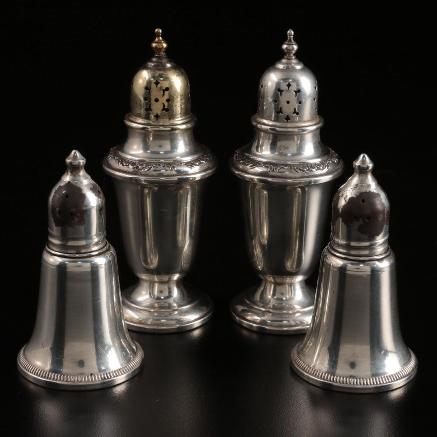 Gorham and Duchin Creations Sterling Silver Shakers
