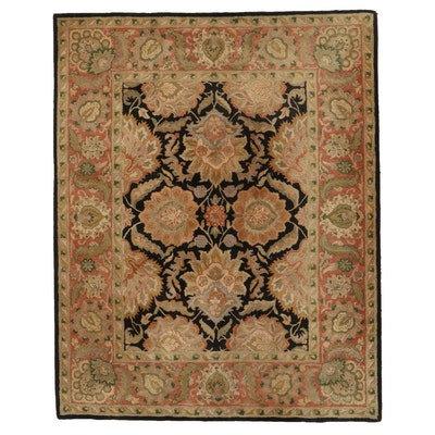 """7'7 x 9'5 Hand-Knotted Indian """"Sierra"""" Area Rug"""