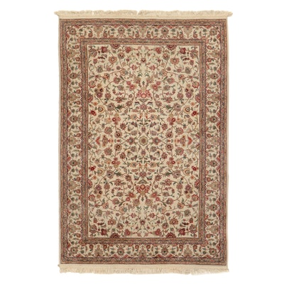 6'2 x 9'6 Hand-Knotted Indo-Persian Tabriz Area Rug