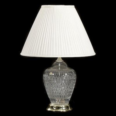 Crystal Clear Industries Polish Crystal Table Lamp