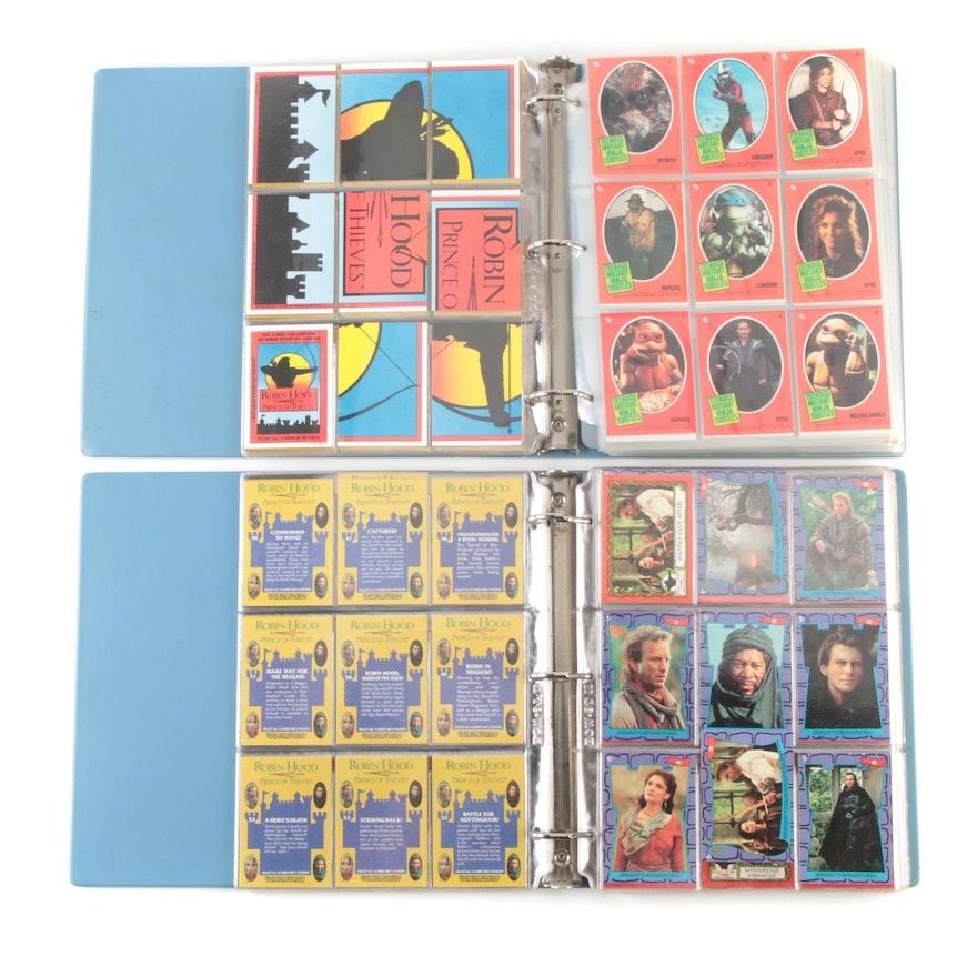 """Robin Hood: Prince of Thieves"" and ""Teenage Mutant Ninja Turtles"" Trading Cards"
